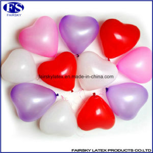 "14 ""Decorative Balloon 3.5g Printed Heart-Shaped Balloons pictures & photos"