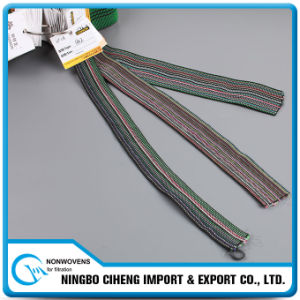 Coloured Knitted Rubber Tape Adjustable Stretching Sofa Elastic Strap pictures & photos