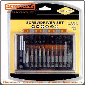 35PCS Screwdriver Bit Set for Wood Working pictures & photos