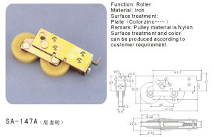 Roller for Sliding Windows/Doors Hardware (SA-147A) pictures & photos