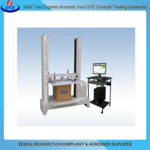Computer Corrugated Cardboard Package Carton Box Compression Test Machine Price pictures & photos