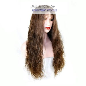 Human Hair Indian Remy Hair Full Lace Wig for Women pictures & photos