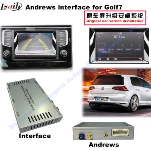 Car Video Interface for Volkswagen 2014-2017 Passat Golf7 Skoda Seat etc with Mqb System, Android Navigation Rear and 360 Panorama Optional pictures & photos