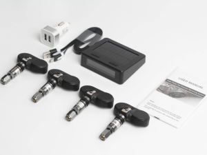 Internal Sensors Tire Pressure Monitor System Tn403 Solar Wireless TPMS pictures & photos