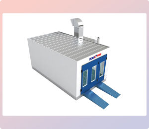 Spray Paint Booth for Cars Paint Booth Heating Systems pictures & photos