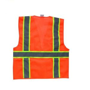 America Style Reflective Safety Vest with Multi Pockets pictures & photos
