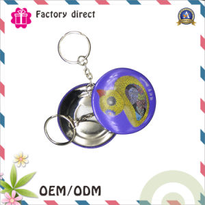 Round Tin Bottle Opener Keychains, Cheap Keychain with Bottle Opener, Bottle Opener Keychain pictures & photos