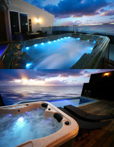 Acrylic Massage Swim SPA with WiFi & Video & TV & Balboa SPA Control Panel pictures & photos