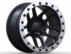 17inch Beadlock-Offroad-Racing-Alloy Wheel for Jeep or Raptor pictures & photos