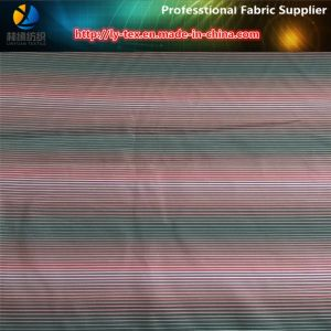Polyester Twill Yarn Dyed Stripe Fabric, Polyester Fabric pictures & photos