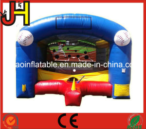 Custom Inflatable Sport Game, Mini Inflatable Baseball Shooting Goal pictures & photos