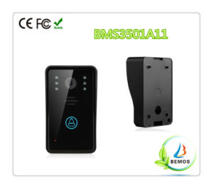 Home Security 3.5 Inches Wireless Intercom Video Door Phone Doorbell with Memory pictures & photos