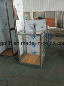 Wheelchair Hydraulic Vertical Platform Lift/Home Platform Disabled Lift for Handicapped pictures & photos