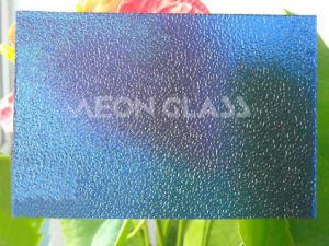 4mm, 5mm, 6mm Blue Nashiji Figured / Patterned Glass Blue Nashiji Glass pictures & photos