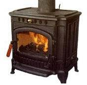Cast Iron Wood Burning Stove, Furnace