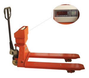 Hand Pallet Truck with Scale with SGS Certificate