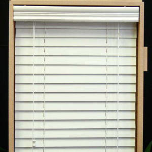Manual Pvc Foamwood Blinds Motorized Venetian Blinds