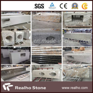 Becautiful Granite White Rose Countertops for Kitchen Surface pictures & photos