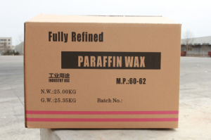Fully Refined Paraffin Wax 60 / 62 pictures & photos