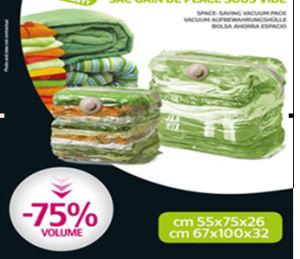 PA+PE Plastic Jumbo Vacuum Storage Cube Bags pictures & photos