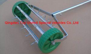 Lawn Aerator Rolling Fertilizer Landscaping Yard Grass Seeding Tool Tc0093