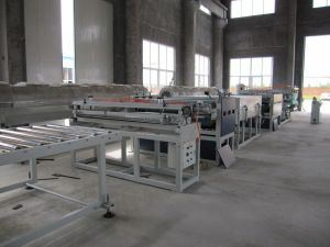 Sj-120 PP Hollow Grid Profile Sheet Making Machinery pictures & photos