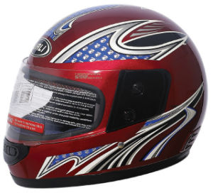 Full Face Helmet / Motorcycle Helmet (206)