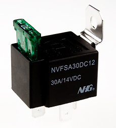 Automotive Relays with Fuse And Metal Bracket (NVFS)