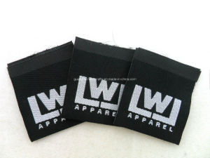 Laser Cut Custom Clothing Garment Private Woven Label pictures & photos