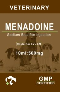 Menadione Injection Vitamin K for Veterinary Injection pictures & photos