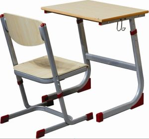 School Furniture, Single School Desk and Chair, Study Table and Chair pictures & photos