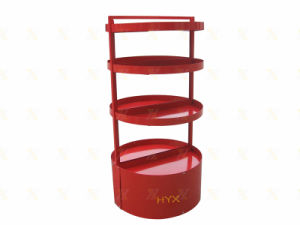 Metal Round Candy Store Display Stand Shelf