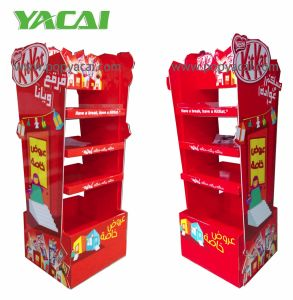 OEM/ODM Cardboard Chocolate Pallet Display Manufacturer with 8 Year′s Experience in China pictures & photos