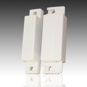 Wired Door Sensor with Wooden Door Installation (HT-31)