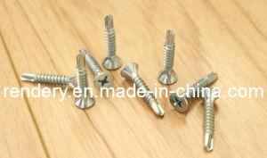Self-Drilling Screw Csk Head with 8ribs pictures & photos
