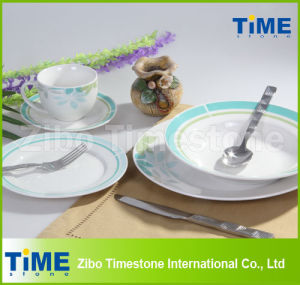 Round Porcelain Good Quality Dinner Sets pictures & photos