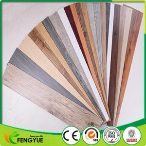 Colors Surface Treatment Wooden Vinyl Floor Tiles pictures & photos