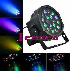 Cheap Price 18PCS 1W RGB LED Flat PAR Light pictures & photos