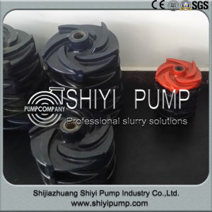 Slurry Pump with Wear Resistant High Abrasion Impeller pictures & photos