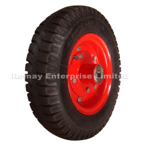 Agricultural Pneumatic Rubber Wheel (4.00-8) pictures & photos