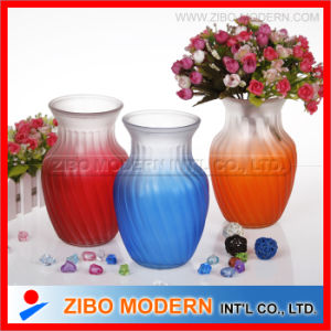 Different Types Colored Glass Vase pictures & photos