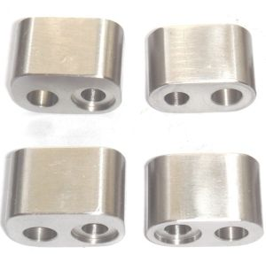Stainless Steel Connector with CNC Machining (DR55) pictures & photos