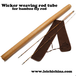 Wicker Weaving Bamboo Fly Rod Tube pictures & photos