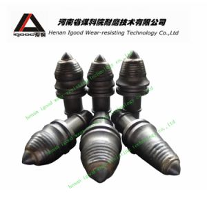 Foundation Drilling Tools Tungsten Carbide Tipped Rotary Cutter Round Shank Piling Auger Drill Bit pictures & photos
