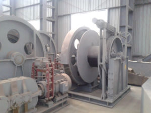 Hydraulic Pressure Marine Electric Mooring Winch Wholesale Factory Price pictures & photos