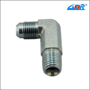 90 Degree JIS Gas Male 60 Degree Cone Bsp Male O-Ring Pipe Fitting pictures & photos