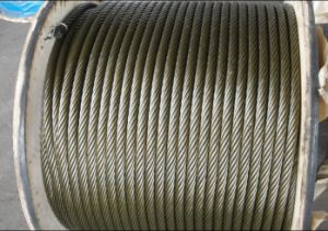 Derricking Machinery Steel Wire Rope pictures & photos