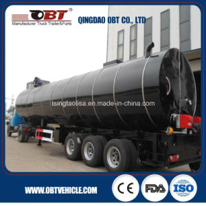 50 Cbm Transport Bitumen Asphalt Tanker Truck Trailer pictures & photos