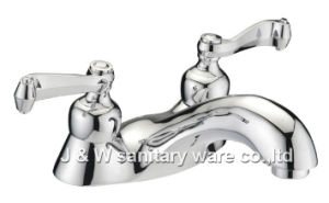 "4"" High Quality Lavatory (Bathroom) Faucet (E-28) pictures & photos"