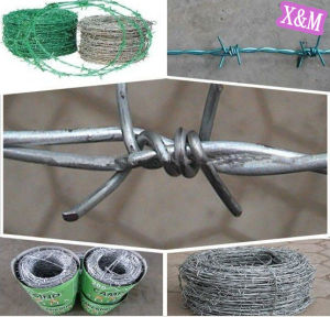Galvanized Double strand/single strand Barbed Wire pictures & photos